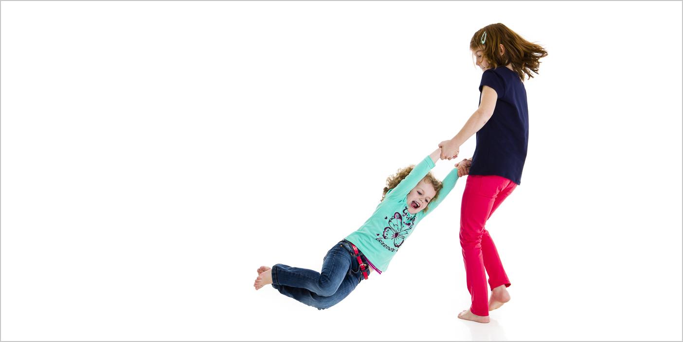 Kinderfotografie dynamisch und ungezwungen