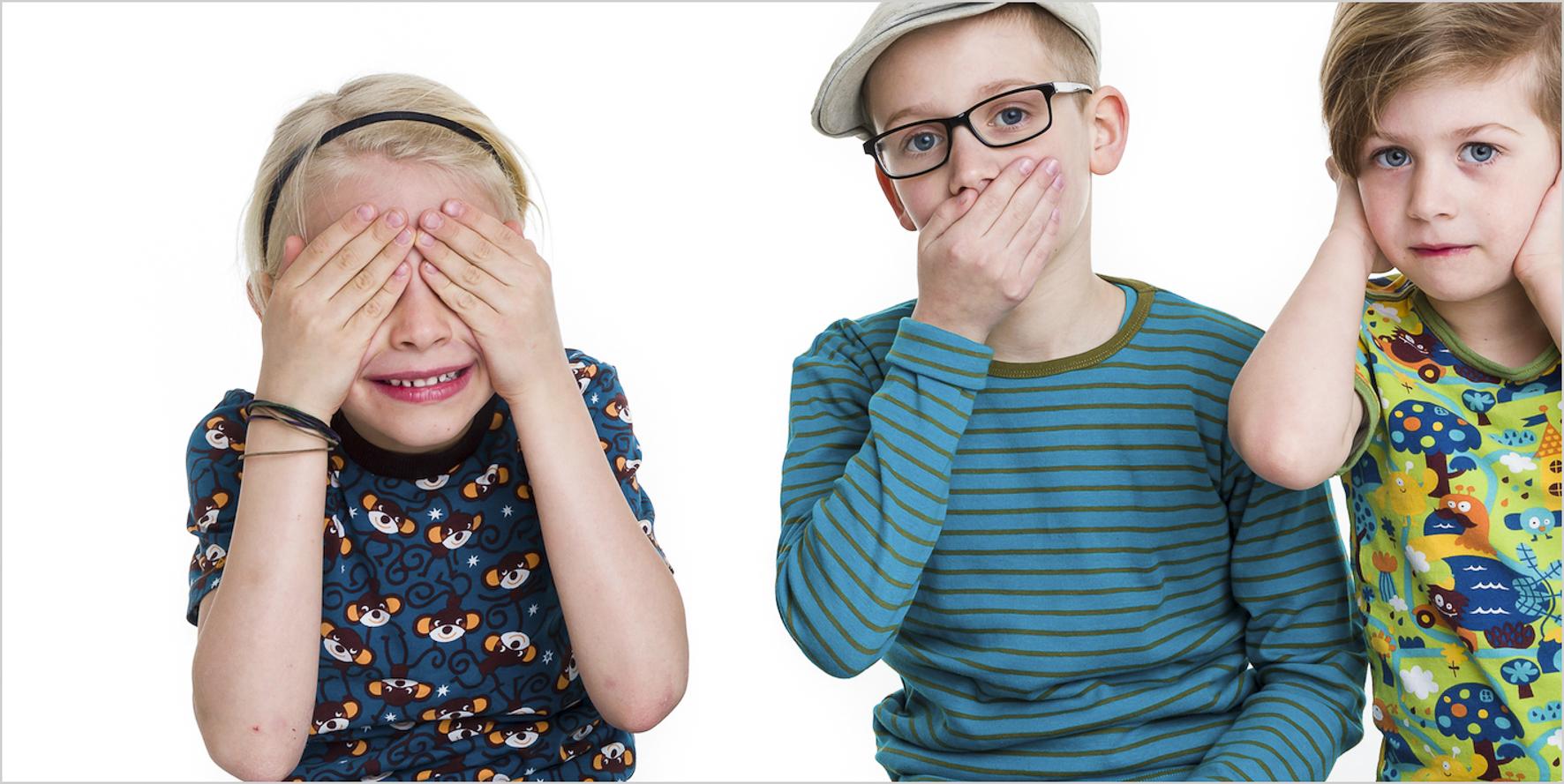 Kinderfotografie Geschwister Portrait kreativ